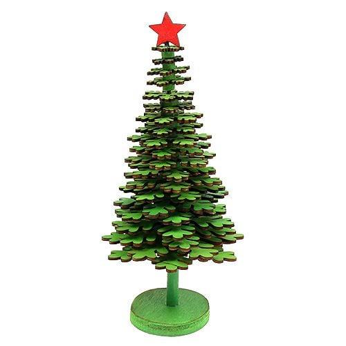 österreich Weihnachtsbaum.Weihnachtsbaum Schneeflocken Grün 25cm