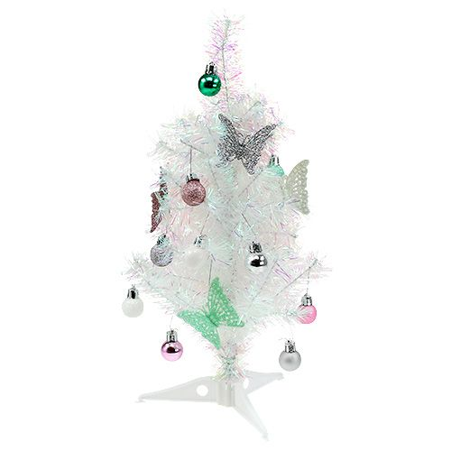 Weihnachtsdeko Für Baum.Weihnachtsdeko Mini Baum Bunt 43cm