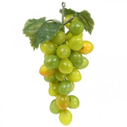 Deko Weintraube Grün Herbstdeko Kunstfrüchte 15cm