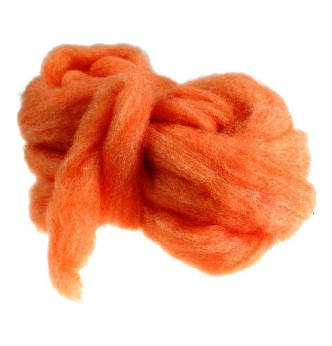Wolllunte 10m Orange