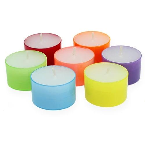 Teelichter farbig Ø38mm 40St