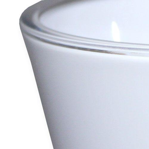 """Vase """"Fizzy"""" Weiß, 1St"""