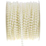 Perlenband Weiß 4mm 20m