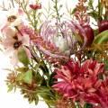 Blumenstrauß Herbst Fuchsia 40cm