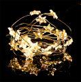 LED-Lichterdraht Sterne 20er 2,3m Warmweiß