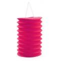 Lampion Zuglaterne Pink Ø10cm H13cm 8St