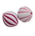 Streudeko Perle 2-farbig Ø1,3cm 300St